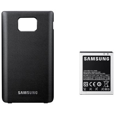 Batería extendida Samsung Galaxy S2 i9100 Negra
