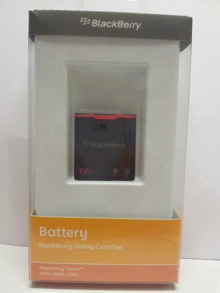 Batería Blackberry EM1, Curve 9370, 9360, 9350
