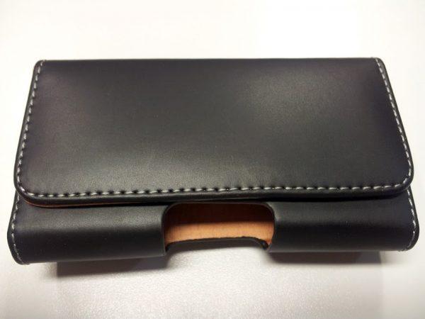 Funda piel negra 120x65x28 mm