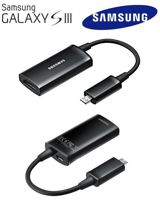 Samsung adaptador HDTV EPL-3FHUBEGSTD para Galaxy SIII
