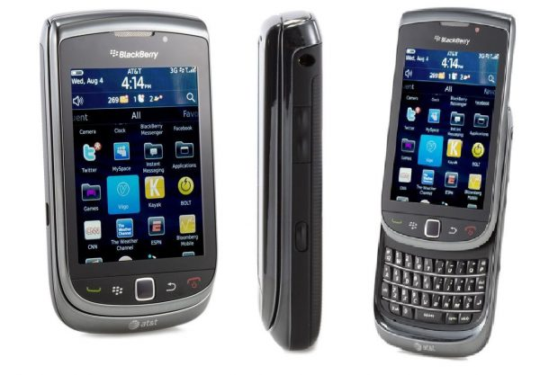 Blackberry Torch 9800 smartphone negro