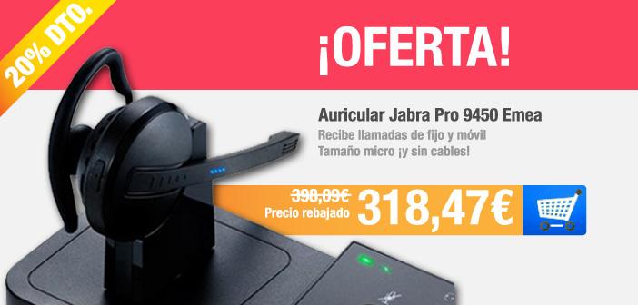 Oferta auriculares Jabra por 318,47 euros