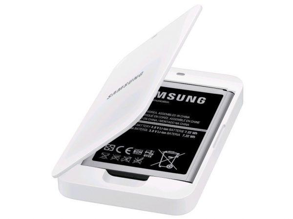 Base cargadora batería Samsung Galaxy S4 mini con batería mini