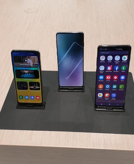 smartphones Samsung S10